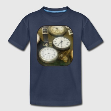 Vintage Pocket Watches - Kids' Premium T-Shirt