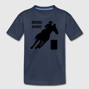 Barrel Racing - Kids' Premium T-Shirt
