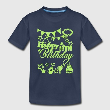 Happy 11th Birthday - Kids' Premium T-Shirt
