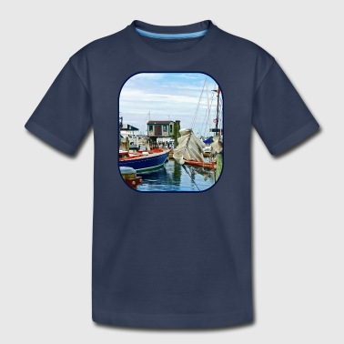Newport RI - Folded Sails - Kids' Premium T-Shirt