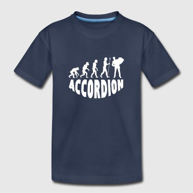 Accordion Evolution - Kids' Premium T-Shirt