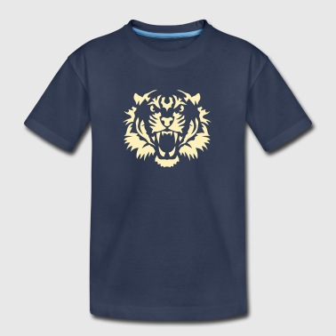 Tiger Head tiger head 10090 wild animals - Kids' Premium T-Shirt