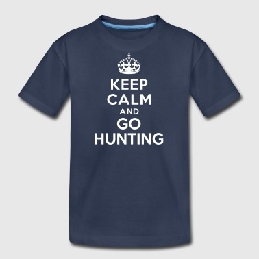 Keep calm and go hunting - Kids' Premium T-Shirt