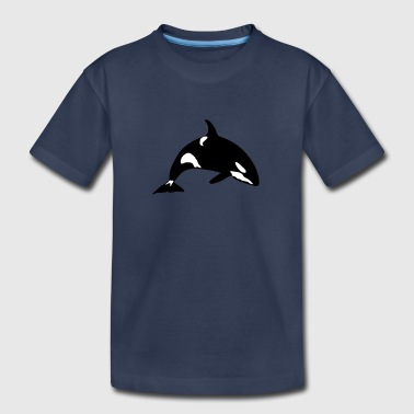 marine animal orca 1010 - Kids' Premium T-Shirt