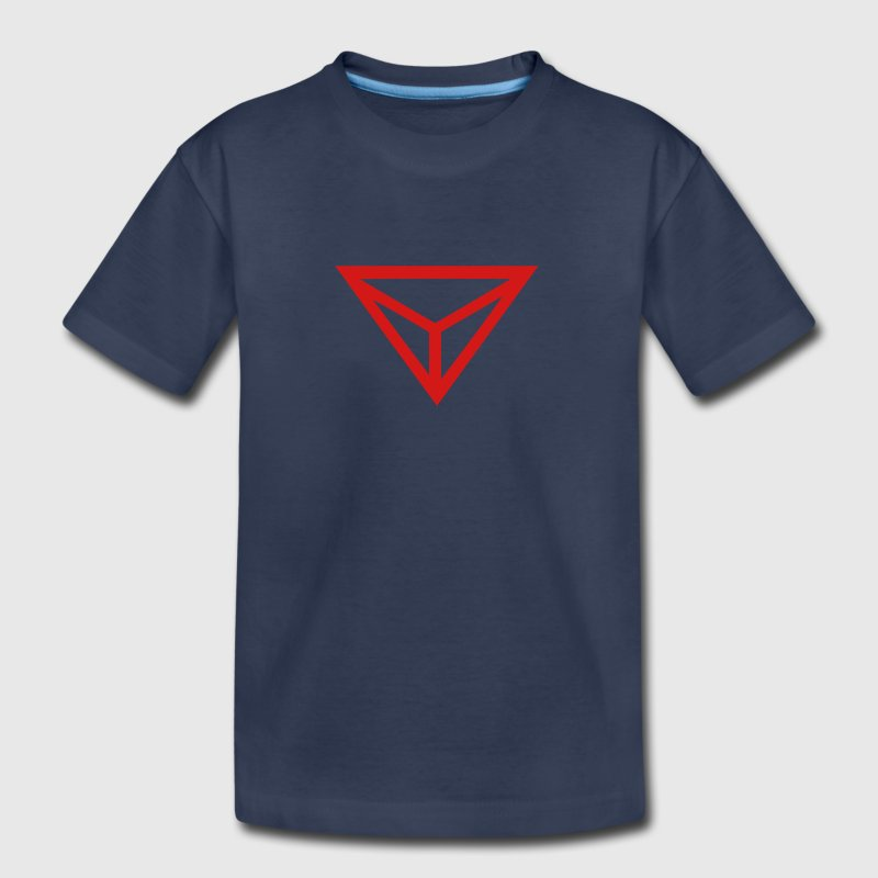 dragon eye medieval alchemical symbol - Kids' Premium T-Shirt