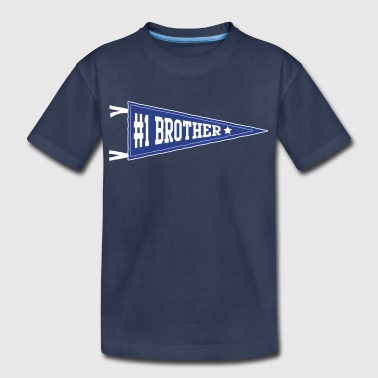 #1 Brother - Kids' Premium T-Shirt