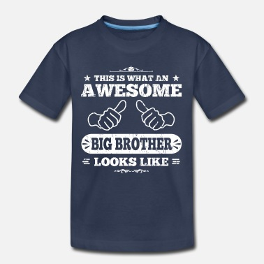 Big Awesome Big Brother - Kids' Premium T-Shirt