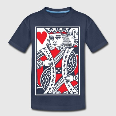 Kings of Hearts - King Card - Kids' Premium T-Shirt