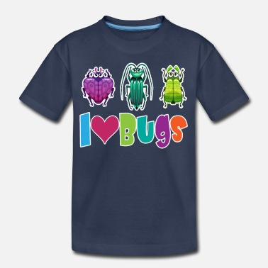 Trio I Love Bugs - Kids' Premium T-Shirt