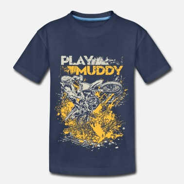 Mud Motorbike Fun Mud - Kids' Premium T-Shirt