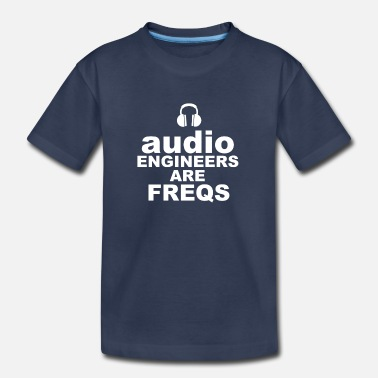 Audio Audio Freqs - Kids' Premium T-Shirt