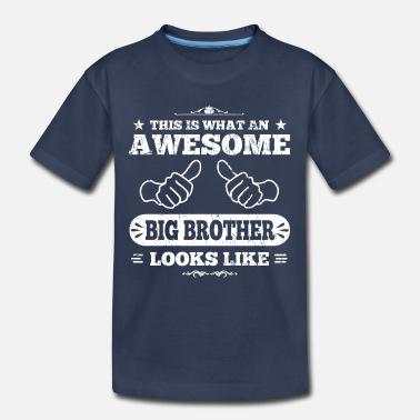 A LITTLE BIRDIE TOLD ME BIG BROTHER BOYS DESIGNER TSHIRT T SHIRT CHILDRENS KIDS