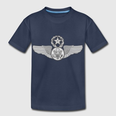 MASTER ENLISTED WINGS - Kids' Premium T-Shirt