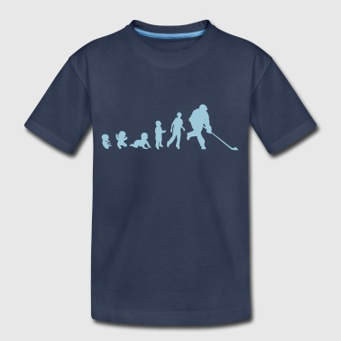 human evolution street hockey 1 - Kids' Premium T-Shirt