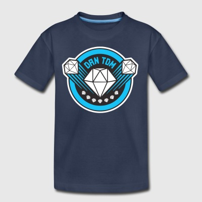 DAN TDM The Diamond Minecart New Diamond Logo - Kids' Premium T-Shirt