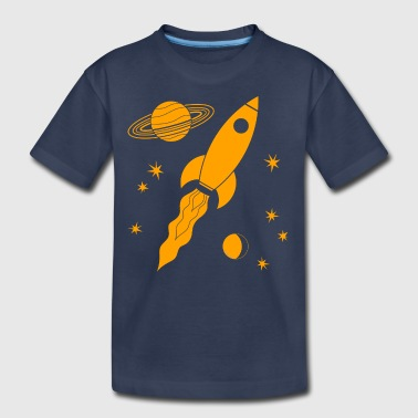 rocket orange - Kids' Premium T-Shirt
