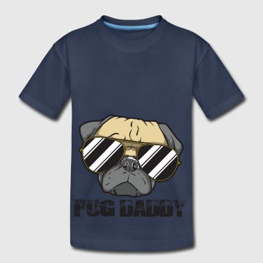 Pug Daddy - Kids' Premium T-Shirt