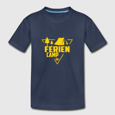 Ferien Camp - Scouts, Kids, Holidays - Kids' Premium T-Shirt