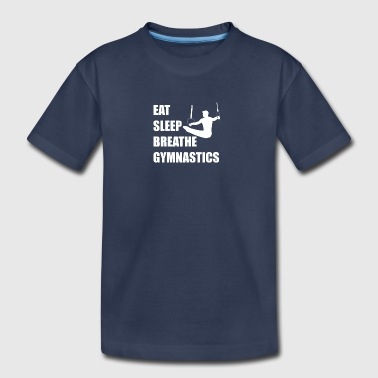 Eat Sleep Breathe Gymnastics - Kids' Premium T-Shirt