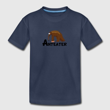 Cartoon Anteater - Kids' Premium T-Shirt