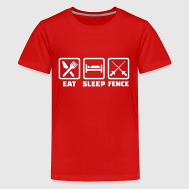 Fencing - Kids' Premium T-Shirt