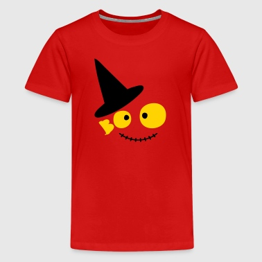 boo cute halloween art3 c - Kids' Premium T-Shirt