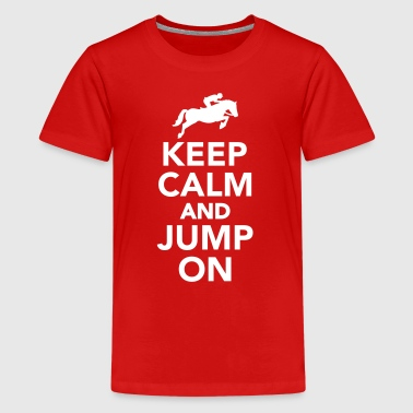Show jumping - Kids' Premium T-Shirt