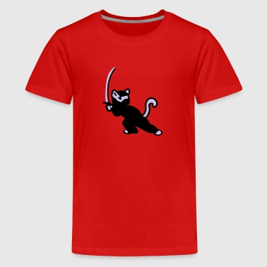 Ninja Cat - Kids' Premium T-Shirt