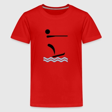 Water ski - Kids' Premium T-Shirt