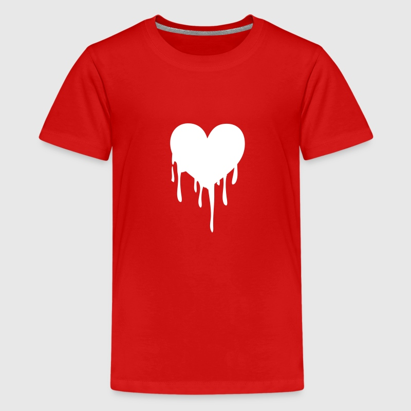 melting heart - Kids' Premium T-Shirt