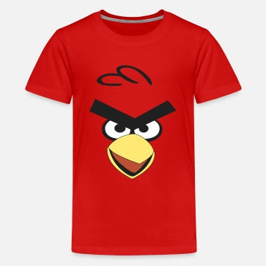 Birds red bird - Kids' Premium T-Shirt