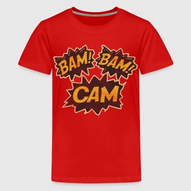 Bam Bam Cam Boston Hockey - Kids' Premium T-Shirt