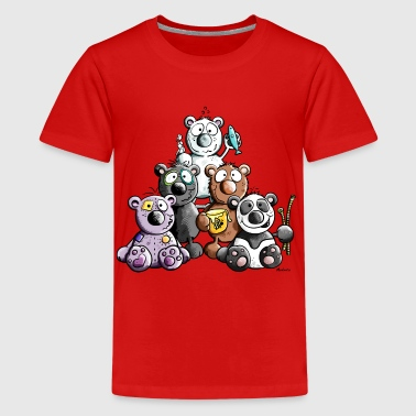 California Bear Family Funny Bears - Kids' Premium T-Shirt