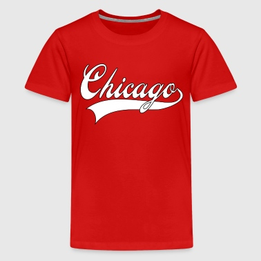 chicago white - Kids' Premium T-Shirt