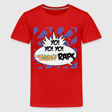 Yo! Yo! Yo! Transparent - Kids' Premium T-Shirt