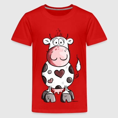 Love Cow Lovely cow - Kids' Premium T-Shirt