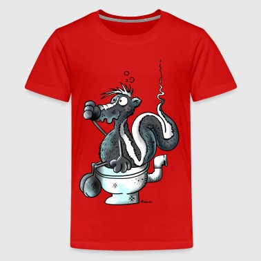 Smelling Skunk - Kids' Premium T-Shirt