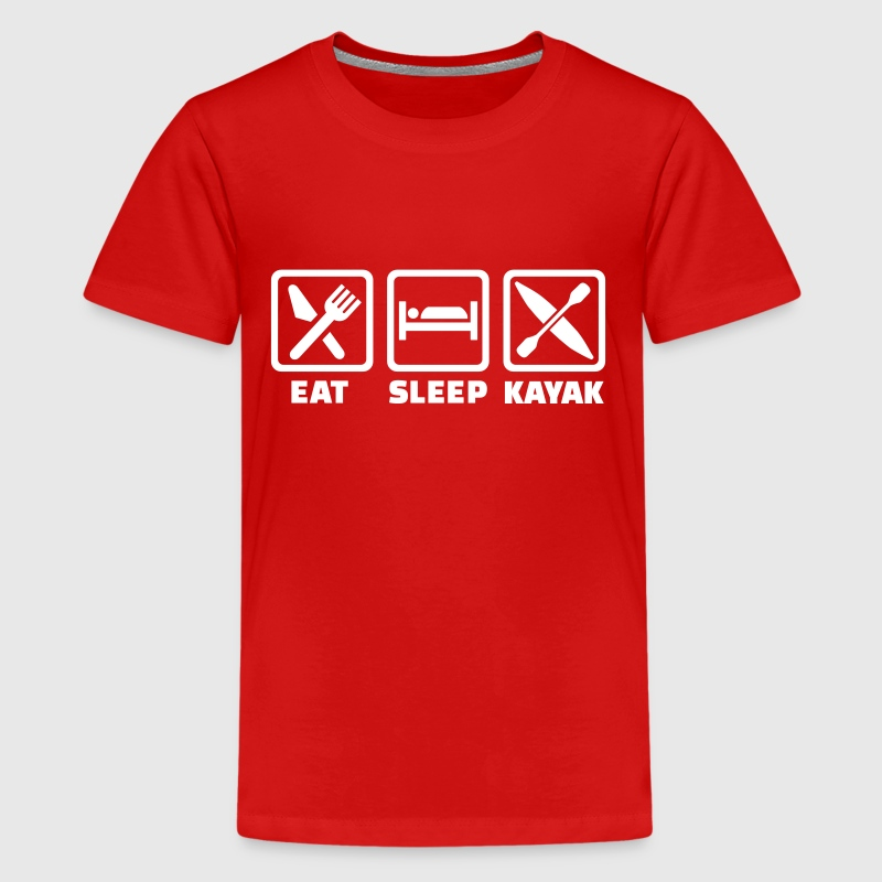 Kayak - Kids' Premium T-Shirt