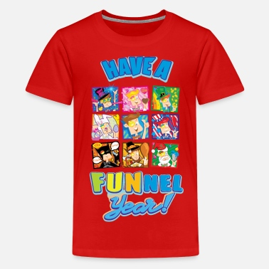 Vision Have a FUNnel Year  - Kids' Premium T-Shirt