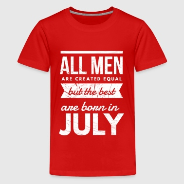 July Birthday men - Kids' Premium T-Shirt