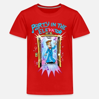 Vision FGTeeV Party In The Elevator (Kids) - Kids' Premium T-Shirt