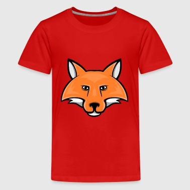 Foxx fox head mascot - Kids' Premium T-Shirt