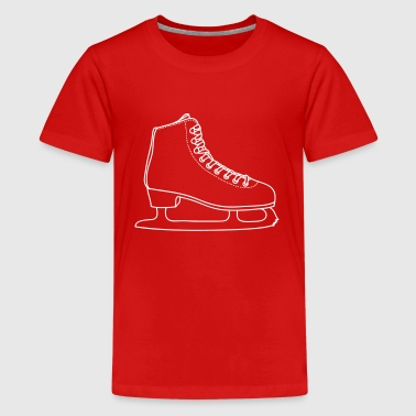 ICE-SKATE figure skating - Kids' Premium T-Shirt