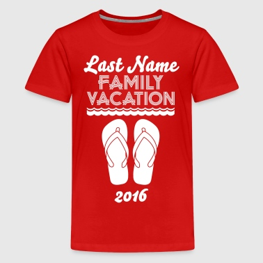 Family Vacation Flip Flop - Kids' Premium T-Shirt