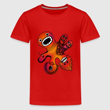 Six Headed Monster - Kids' Premium T-Shirt