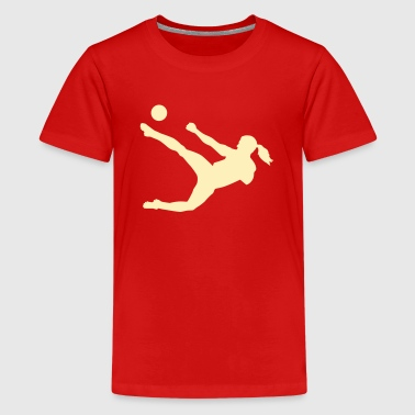 Women soccer - Kids' Premium T-Shirt