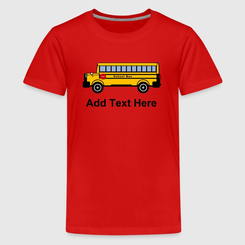 School Bus - Kids' Premium T-Shirt