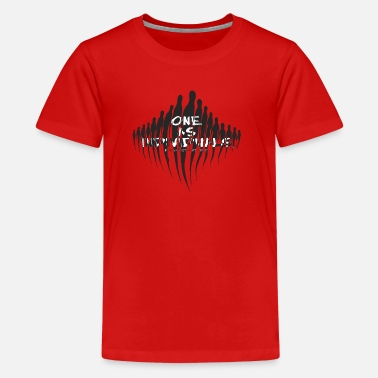 Individualism one as individuals - Kids' Premium T-Shirt