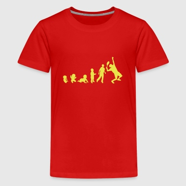 evolution tennis - Kids' Premium T-Shirt