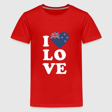 Love New Zealand I love New Zealand - Kids' Premium T-Shirt